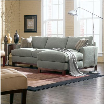 Rowe Furniture F23X Sullivan Mini Mod Apartment Sectional Sofa