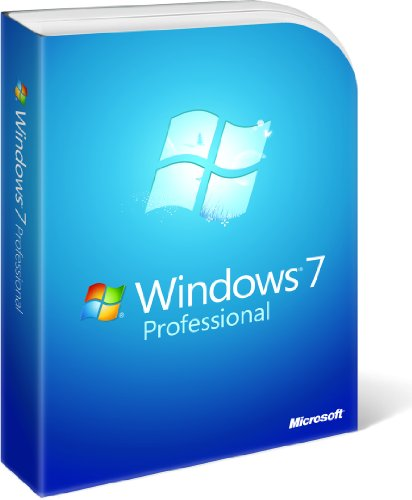 Microsoft Windows 7 Professional [Old Version] front-603158
