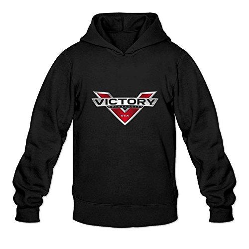 Men's Victory Motorcycle Logo Hoodie Sweatshirt