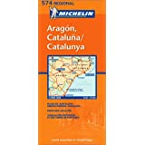 Carte RGIONAL Aragon,Cataluna, Catalunyapar Collectif Michelin