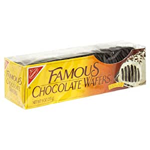 Famous Chocolate Wafers, 9-Ounce  Boxes (Pack of 12)