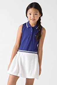 Girl's Sleeveless Super Dry Pique Polo