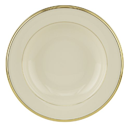 Lenox Eternal 9-Inch Gold-Banded Fine China Pasta/Soup Bowl, Set of 4 (Lenox Pasta Set compare prices)