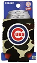 CHICAGO CUBS MLB CAMO CAN KADDY KOOZIE COOZIE COOLER