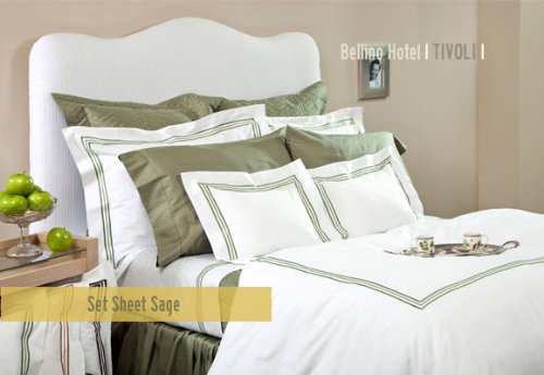 Bellino Tivoli Hotel Collection Queen Fitted Sheet (Bellino Sheets compare prices)