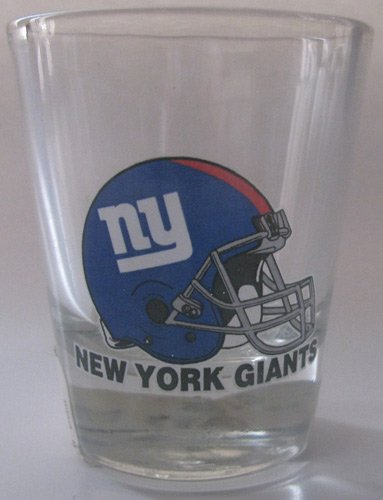 NFL New York Giants Shot Glass