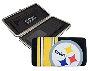 NFL Pittsburgh Steelers Shell Mesh Wallet by Littlearth