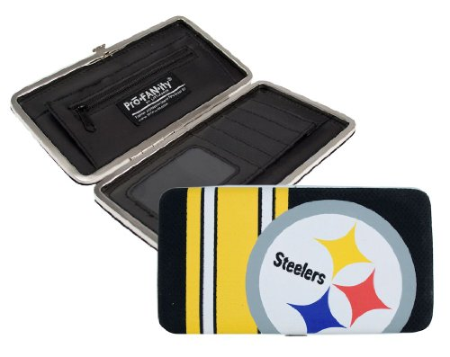 littlearth-nfl-pittsburgh-steelers-shell-mesh-wallet
