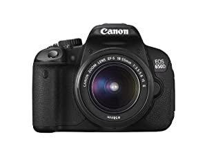 Canon EOS 650D Digital SLR Camera - Black (Inc. 18-55mm f/3.5-5.6 IS II Lens Kit)