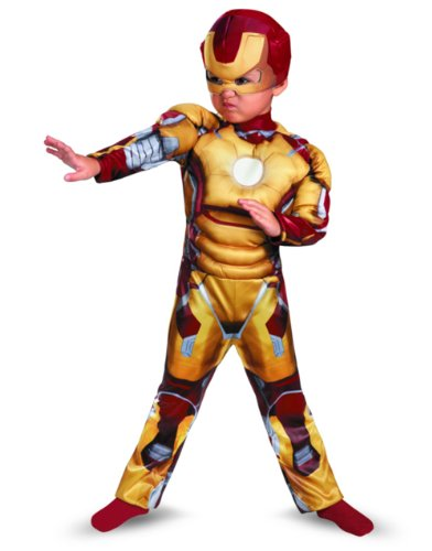 Disguise Marvel Iron Man Movie 3: Iron Man Mark 42 Toddler Muscle Costume