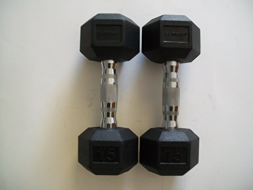 15-lb-Hex-Dumbbells-with-Rubber-Heads-Pair