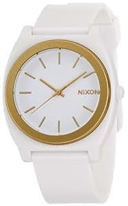 [ニクソン]NIXON TIME TELLER P: WHITE/GOLD ANO NA1191297-00  【正規輸入品】
