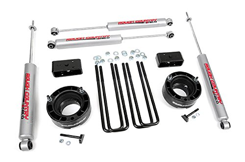 Rough Country - 362.20 - 2.5-inch Suspension Leveling Lift Kit w/ Premium N2.0 Shocks (Dodge Ram Lift Kit compare prices)