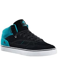 Emerica Men's Westgate Skate Shoe,Black/Blue/White,5.5 D US