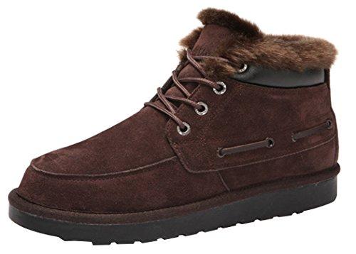 Rock Me Men'S Baken Iv Waterproof Winter Ankle Snow Boot(9.5 D(M) Us, Brown)