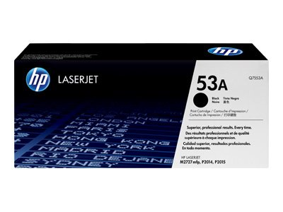 Hewlett Packard HP 53A Laser Toner Cartridge Black Q7553A P2015 Black Friday & Cyber Monday 2014