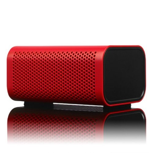 Braven 440 Water Resistant Portable Wireless Bluetooth Speaker With Powerbank (Red)