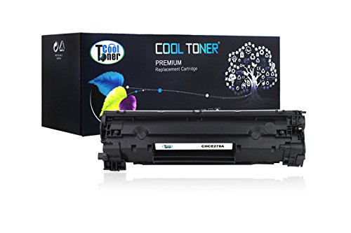 Cool Toner® New Compatible HP CE278A,Canon 128 Toner Cartridge for HP LaserJet M1536, Canon LBP-6200D, image class MF4570