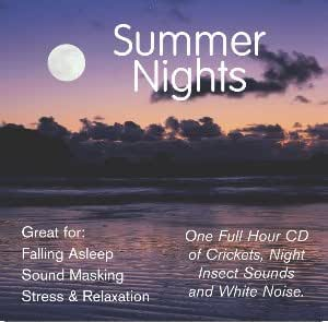 Summer Nights: Night Time Cricket Sounds CD