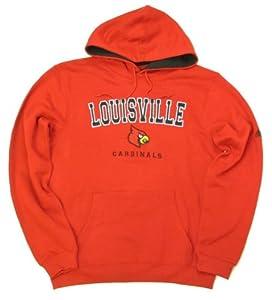 adidas Louisville Cardinals Revised Playbook Hooded Sweatshirt by adidas