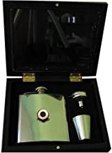 Football Club Hip Flasks-Fulham 39The Cottagers39 Football Club 6Oz Hip Flask Gift Set