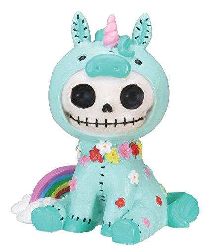 dash-fun-hand-painted-furrybones-exclusive-voodoo-doll-mint-pastel-unicorn-skeleton-monster-ornament