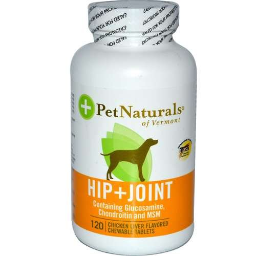 Pet Naturals Of Vermont Hip & Joint 120 Tab