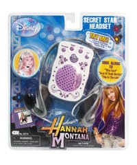 Hannah Montana Secret Rock Star Headset - 1