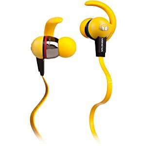 Amazon.com: Monster iSport LIVESTRONG In-Ear Headphones - Yellow: Electronics