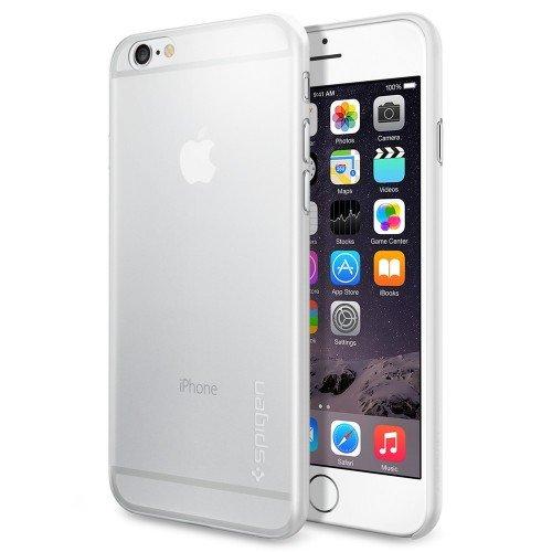 iPhone 6 ケース Spigen [薄さ0.4mm] エアースキン Apple iPhone 4.7 (2014) (国内正規品) (iPhone6, ソフト・クリアSGP11078)