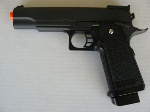 1911 AIRSOFT PISTOL GUN BB HIGH POWER 275 FPS FULL METAL