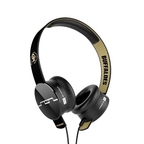 Sol Republic 1211-Uco Collegiate Series Tracks On-Ear Headphones With Three Button Remote And Microphone - University Of Colorado