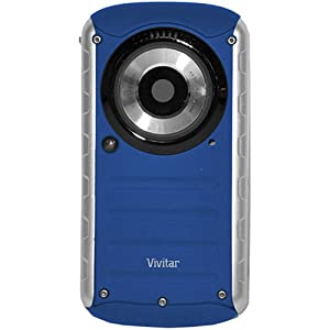 Vivitar DVR 690HD Waterproof Digital Camcorder (Blue)