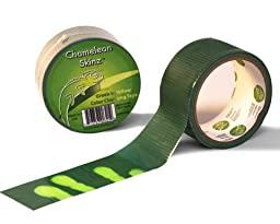 Chameleon Skinz - Color Changing Tape 1.88 in by 10 yds single roll craft duct tape (Green to Yellow)