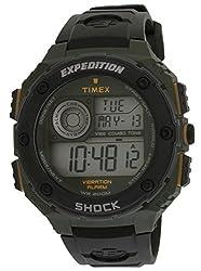 Timex Shock Digital Grey Dial Mens Watch - T49982