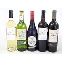 セレクションフランス金賞受賞ワイン5本セット(赤3本 白2本)750ml×5本