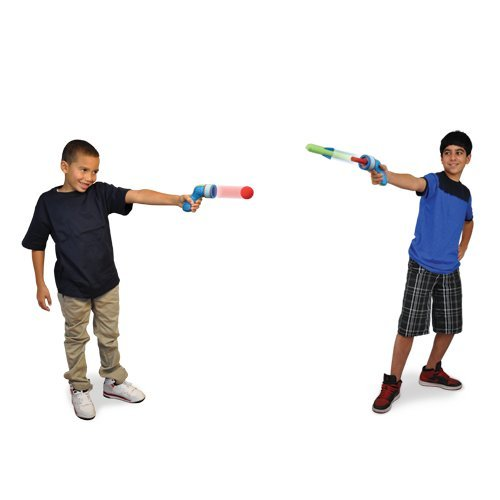 Pump Rocket Duo Foam Blaster Squeeze & Shoot with Rockets & Ammo Balls - 1