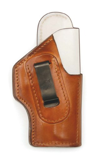 Front Line Inside The Waistband Leather Holster With Alpha Lining (Brown), Right Hand, C.Z. 75 P07 Duty