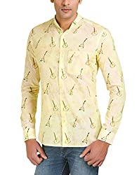 Color-Buckket Men's Casual Shirt_CB508_White_XXL