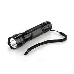 TOMOUNT Linterna Lámpara CREE Q5 LED 3W 180LM Luz Verde Deportivo