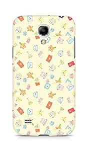 Amez designer printed 3d premium high quality back case cover for Samsung Galaxy S4 Mini (cute cartoon collage )