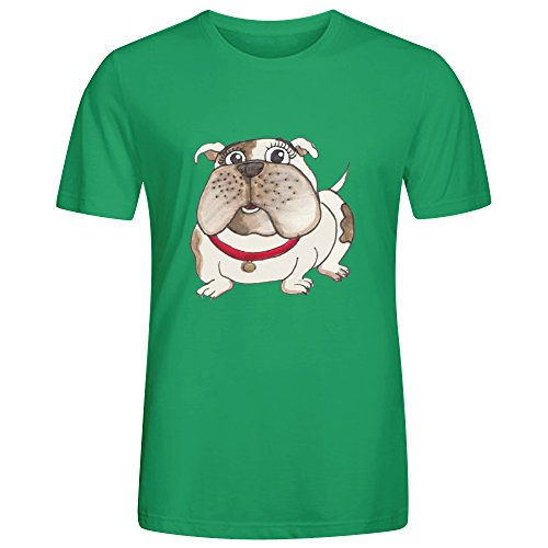 Bulldog Phu T Shirts Mens Green (Carters Space Dogs compare prices)
