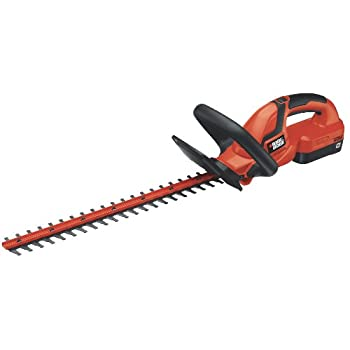 Black & Decker NHT2218 18-Volt Cordless Hedge Trimmer, 22-Inch