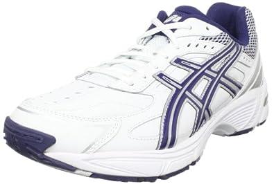ASICS Men's GEL-170 TR Cross-Training Shoe,White/Navy/Silver,10 M US