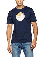 Columbia Camiseta Manga Corta CSC Pioneer Peak (Azul Marino)