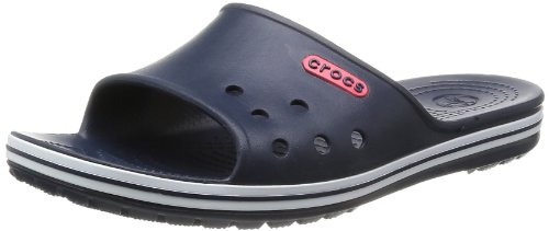 Crocs Unisex-Adult Crocband Slide Low Profile Thong Sandals 15692-410-740 Navy 13 UK, 47 EU, 13 US, Regular
