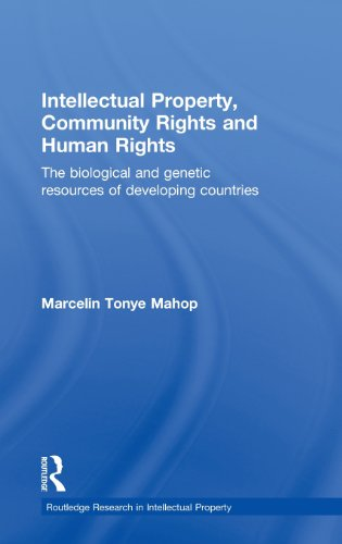 Intellectual Property, Community Rights and Human Rights: The Biological and Genetic Resources of Developing Countries (