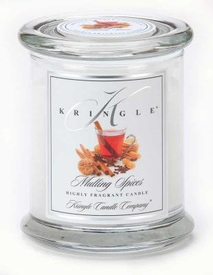 Kringle Candle Company Medium Classic Apothecary Jar - Mulling Spices