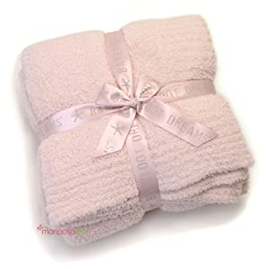 barefoot dreams bamboo chic throw blanket pink oprahs favorite things. Black Bedroom Furniture Sets. Home Design Ideas