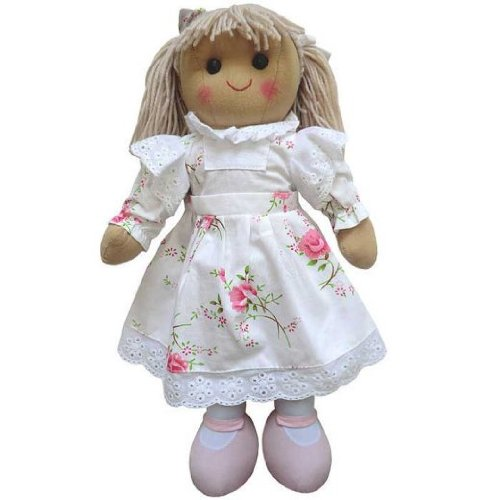 powell-craft-large-rag-doll-with-white-flowery-dress-40cm